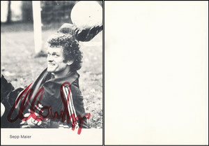 Maier, 1979, Spielerkarte