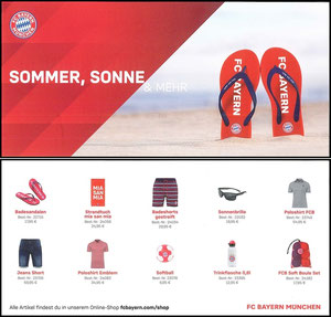 FanShop, 2019, Flyer 'Sommer', Dank an SF Robert