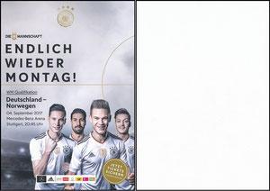 DFB, 2017, 'Deutschland-Norwegen'
