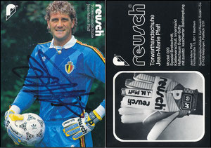 Pfaff, 1985, Reusch, Nationaldress Belgien