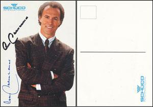 Beckenbauer, 1990, Schüco, mit Druck-AG