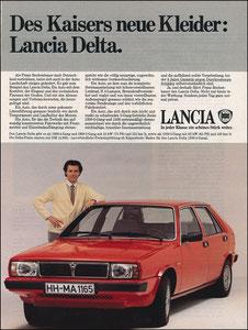 Beckenbauer, 1980, Lancia, Zeitungsanzeige, Motiv 3