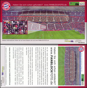 Bayern München, 2009 'fanblockphotos'