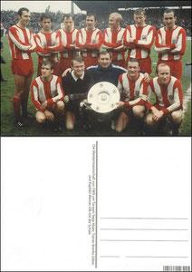 Fan Shop, Postkarte, '1969, Meisterschaft', Dank an SF Sven