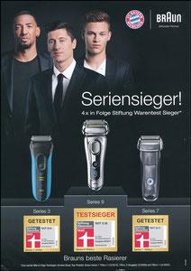 P&G, 2017, 06'2017, 'Braun Seriensieger', A4