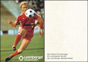 Rummenigge, 1981, Leonberger, ohne Druck-AG