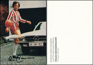 Beckenbauer, 1974, Mercedes-Benz