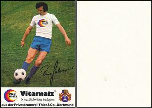 Beckenbauer, 1974, Vitamalz 'Privatbrauerei Thier & Co., Dortmund'