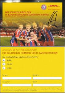 DHL, 2014, signiert Lahm