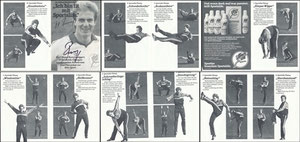 Rummenigge, 1982, SportsLife, Leporello, 3-fach-Klappkarte