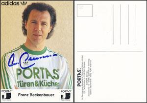 Beckenbauer, 1980, Portas
