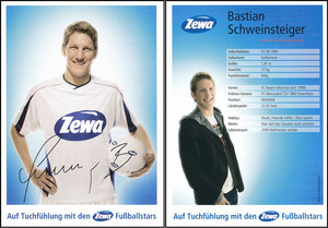 Schweinsteiger, 2006, Zewa, mit Druck-AG