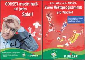 Beckenbauer, 2006, Oddset