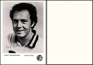 Beckenbauer, 1980, Cosmos NY, Dank an SF Heiko
