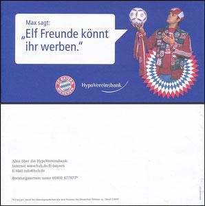Hypovereinsbank, 2007, 'Freunde werden'