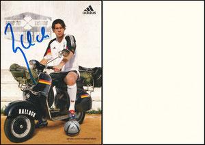 Ballack, 2004, Adidas 'Road to Lisboa', Aufkleber