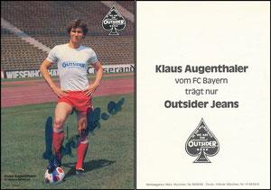 Augenthaler, 1979, Outsider Jeans, Karte 1