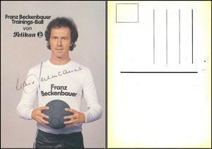Beckenbauer, 1980, Pelikan