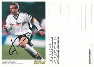 Klinsmann, 1998, World Soccer Magazine