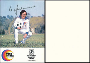 Beckenbauer, 1974, Vitamalz 'Brauerei Ganter GmbH, Freiburg', Motiv 2