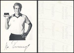 Rummenigge, 1982, Fuji Cassetten, Aufkleber