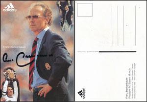 Beckenbauer, 1996, Adidas, kleines Adidas-Emblem