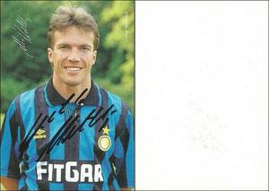 Matthäus, 1991-92, Inter Mailand