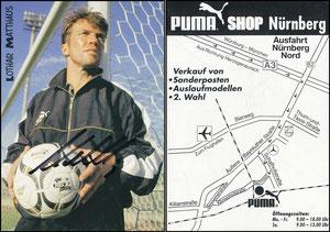 Matthäus, 1998, Puma, Puma-Shop Nürnberg