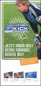 Kahn, 2008, 'Der Millionen-Kick', Flyer