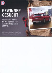 FanShop, 2017, Gewinnspiel 'Audi Q2', A5