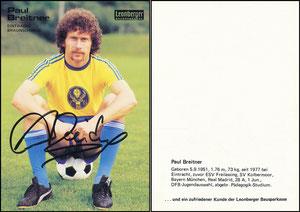 Breitner, 1978, Leonberger, Eintracht Braunscheig