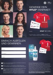 Hylo Care, 2019, Gewinnspiel 'Fan-Paket', Teilnahmeschluss '21.09.2019'