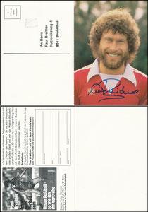 Breitner, 1980, Copress-Verlag, 'Ich will kein Vorbild sein', Klappkarte