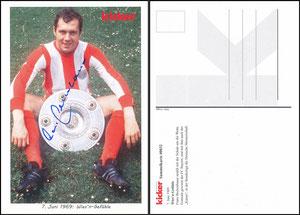 Kicker Sammelkarte 32 Beckenbauer