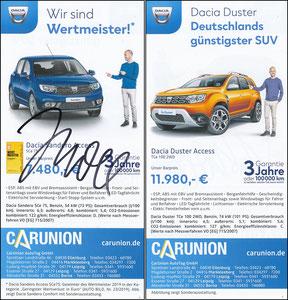 Scholl, 2019, Dacia 'Carunion', sign. im Januar 2020