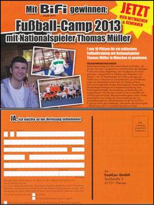 Müller, Thomas, 2013, Bifi 'Fußball-Camp'