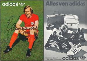 Schwarzenbeck, 1975, Adidas 'Alles von Adidas'