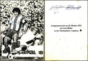 Müller, Gerd, 1972, Sparkasse Augsburg