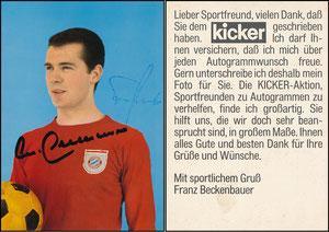 Beckenbauer, 1968, Kicker