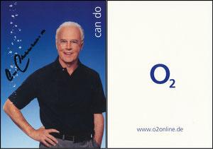 Beckenbauer, 2003 O²