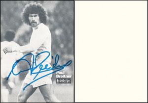 Breitner, 1977, Leonberger, ohne Zudruck 'Real Madrid'