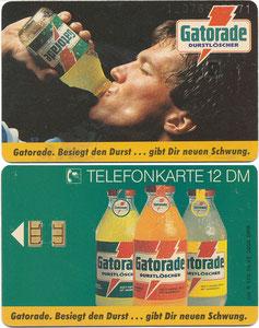Matthäus, 1992, Gatorade, Telefonkarte