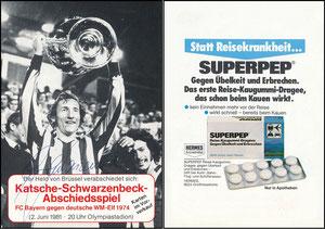 Schwarzenbeck, 1981, Abschiedsspiel