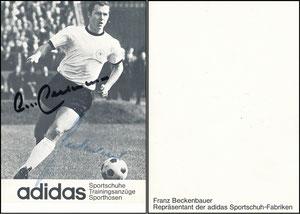 Beckenbauer, 1966, Adidas 'Repräsentant', Motiv 1