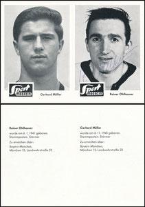 Gemeinschaftskarte, 1965, Müller-Ohlhauser, Sportbild