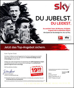 Müller, Thomas, 2015, Sky, Klappkarte
