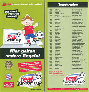 Klose, 2008, real 'Junior Cup', Booklet