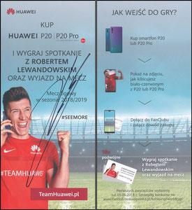 Lewandowski, 2018, Huawei P20