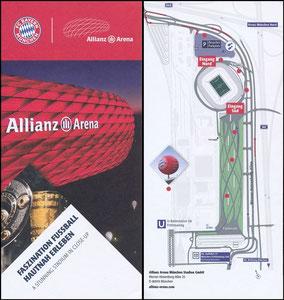 Allianz Arena, 2017, Besucherinfo