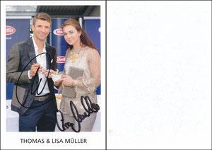 Müller, Thomas, 2016, Barilla 'Thomas & Lisa Müller'